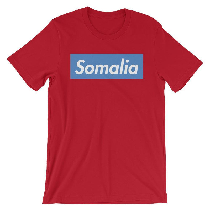 Repparel Somalia Red / S Hypebeast Streetwear Eco-Friendly Full Cotton T-Shirt