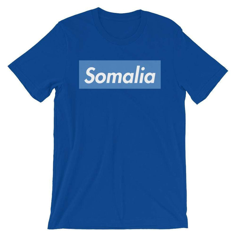 Repparel Somalia True Royal / S Hypebeast Streetwear Eco-Friendly Full Cotton T-Shirt