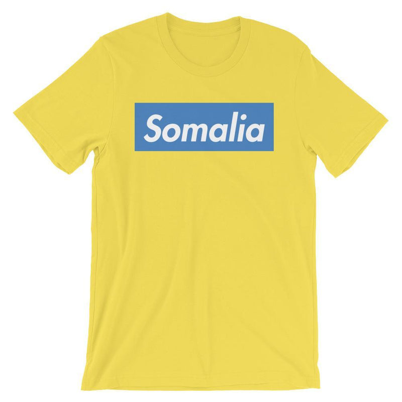 Repparel Somalia Yellow / S Hypebeast Streetwear Eco-Friendly Full Cotton T-Shirt