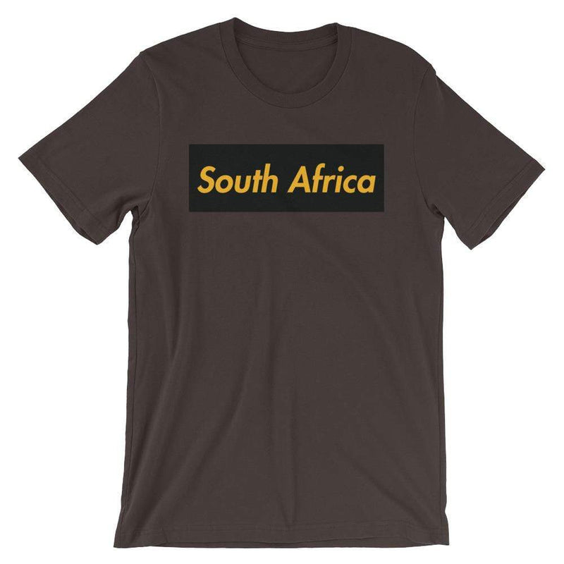 Repparel South Africa Brown / S Hypebeast Streetwear Eco-Friendly Full Cotton T-Shirt