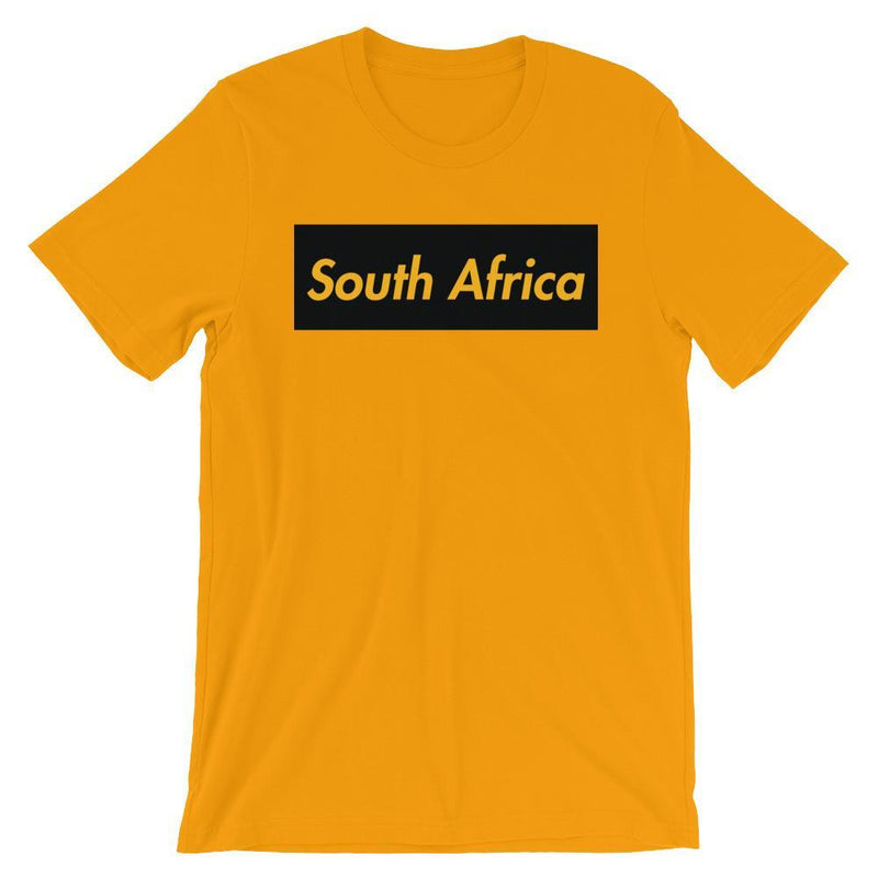 Repparel South Africa Gold / S Hypebeast Streetwear Eco-Friendly Full Cotton T-Shirt