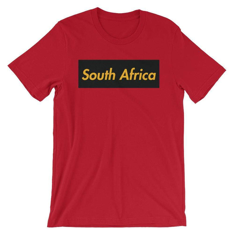 Repparel South Africa Red / S Hypebeast Streetwear Eco-Friendly Full Cotton T-Shirt