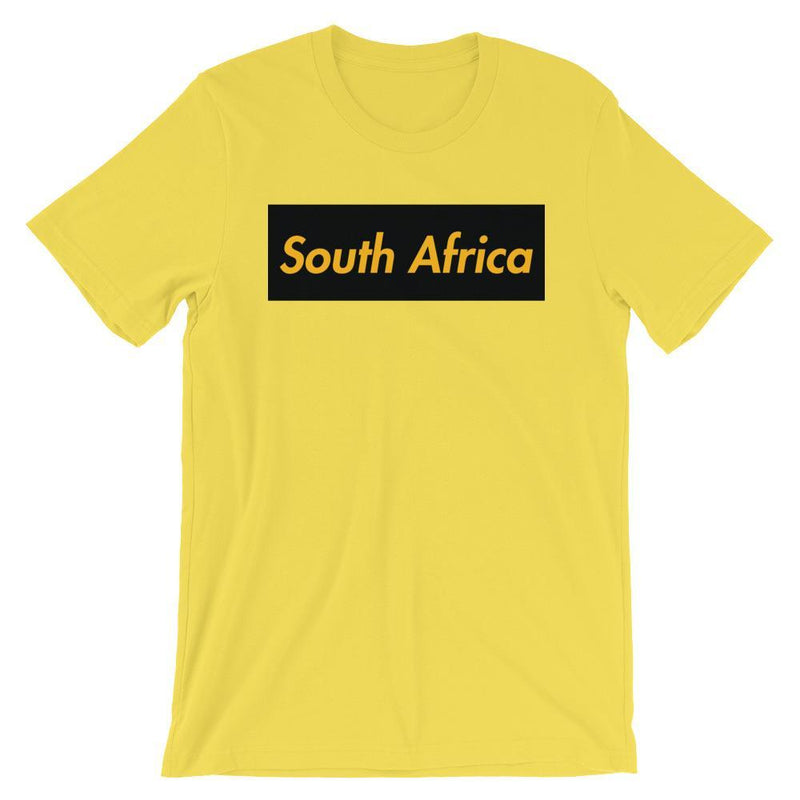 Repparel South Africa Yellow / S Hypebeast Streetwear Eco-Friendly Full Cotton T-Shirt