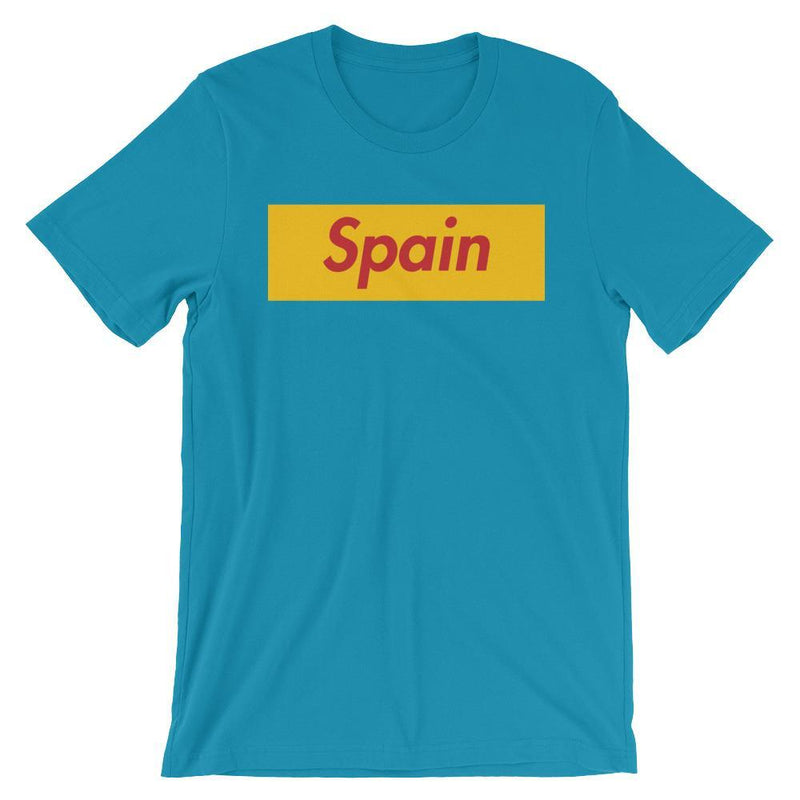 Repparel Spain Aqua / S Hypebeast Streetwear Eco-Friendly Full Cotton T-Shirt
