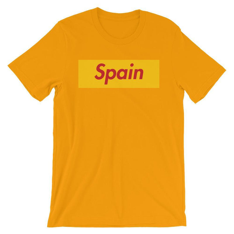 Repparel Spain Gold / S Hypebeast Streetwear Eco-Friendly Full Cotton T-Shirt