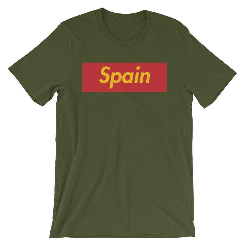 Repparel Spain Olive / S Hypebeast Streetwear Eco-Friendly Full Cotton T-Shirt
