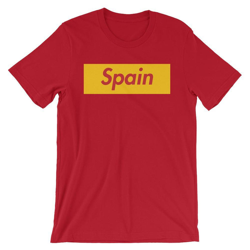 Repparel Spain Red / S Hypebeast Streetwear Eco-Friendly Full Cotton T-Shirt