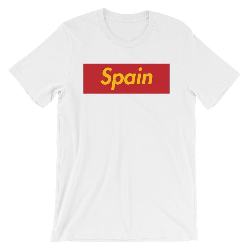 Repparel Spain White / XS Hypebeast Streetwear Eco-Friendly Full Cotton T-Shirt