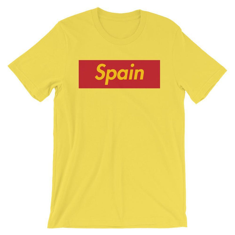 Repparel Spain Yellow / S Hypebeast Streetwear Eco-Friendly Full Cotton T-Shirt