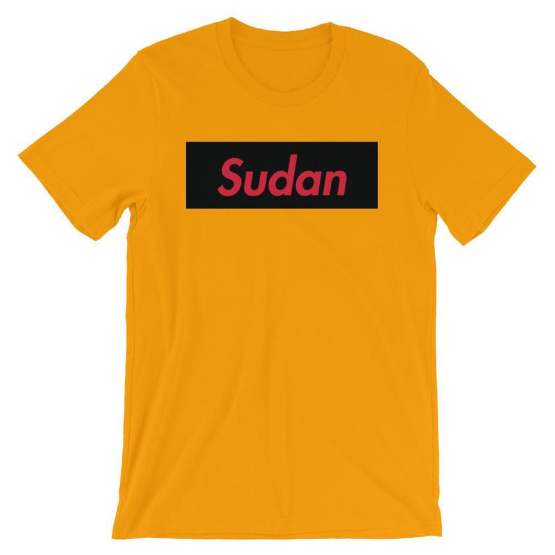 Repparel Sudan Gold / S Hypebeast Streetwear Eco-Friendly Full Cotton T-Shirt