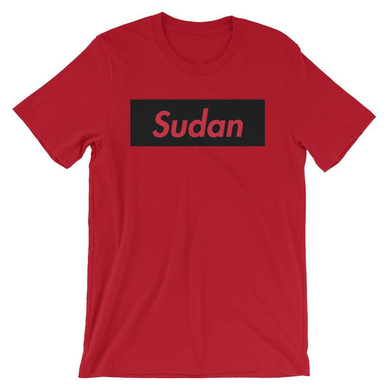 Repparel Sudan Red / S Hypebeast Streetwear Eco-Friendly Full Cotton T-Shirt