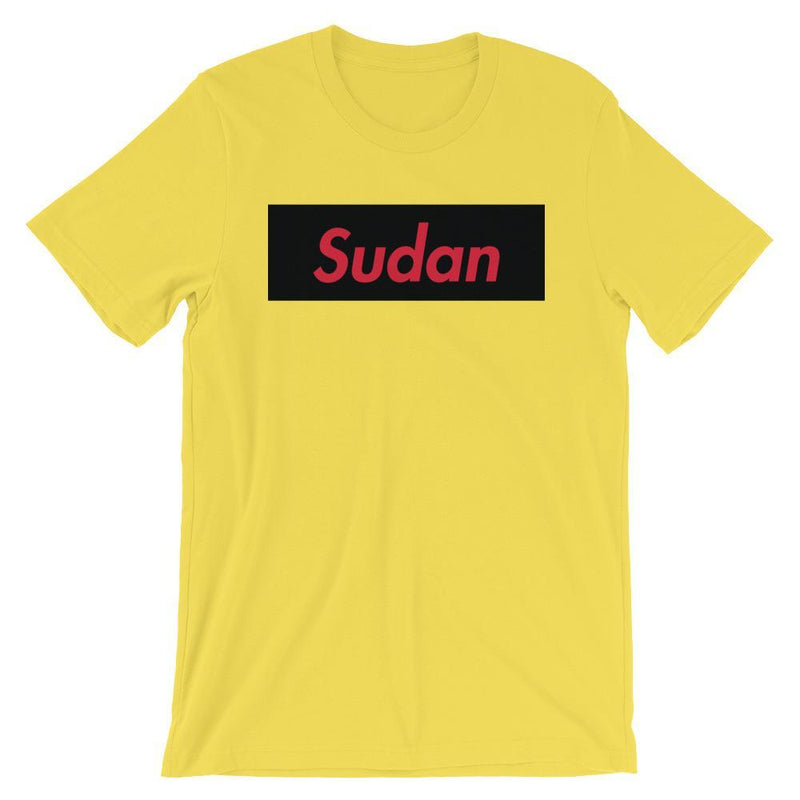 Repparel Sudan Yellow / S Hypebeast Streetwear Eco-Friendly Full Cotton T-Shirt