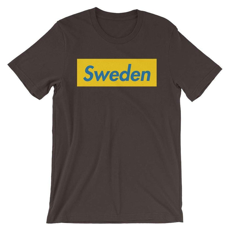 Repparel Sweden Brown / S Hypebeast Streetwear Eco-Friendly Full Cotton T-Shirt