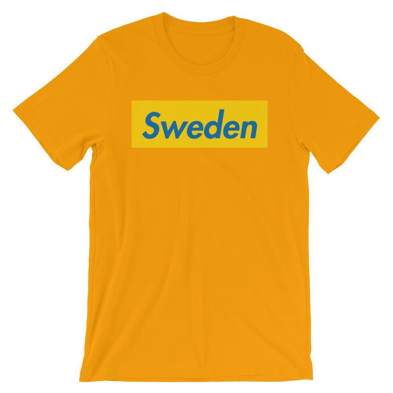 Repparel Sweden Gold / S Hypebeast Streetwear Eco-Friendly Full Cotton T-Shirt