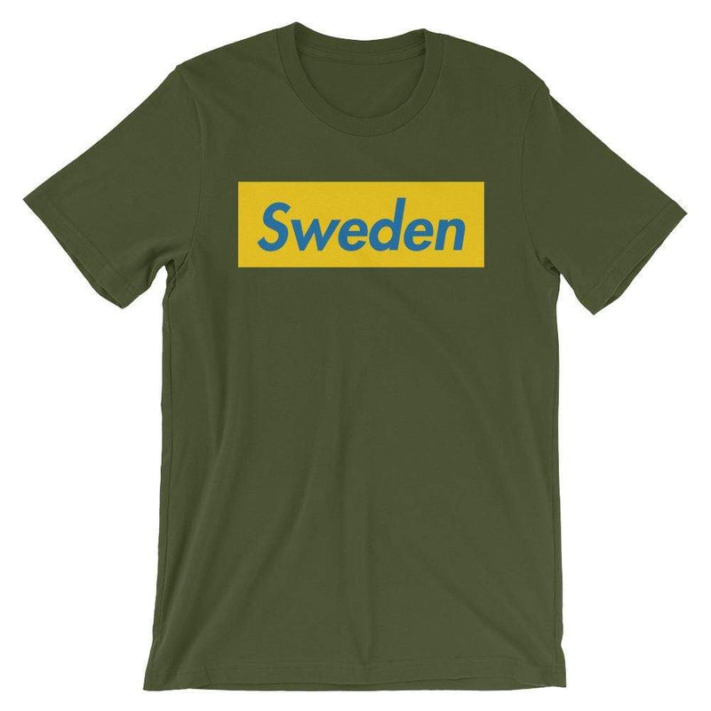 Repparel Sweden Olive / S Hypebeast Streetwear Eco-Friendly Full Cotton T-Shirt