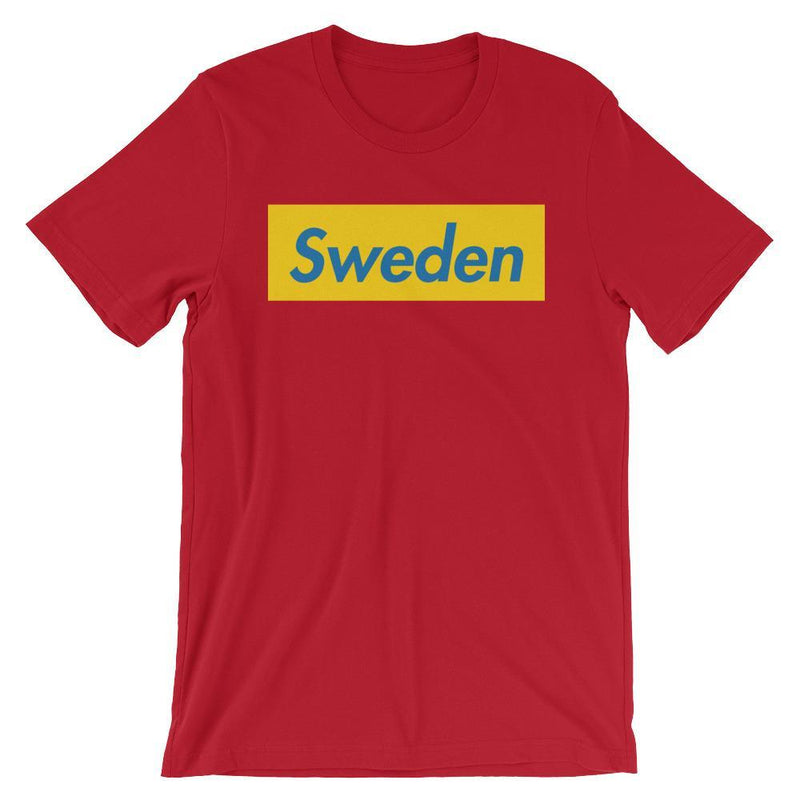 Repparel Sweden Red / S Hypebeast Streetwear Eco-Friendly Full Cotton T-Shirt