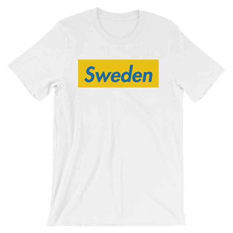 Repparel Sweden White / XS Hypebeast Streetwear Eco-Friendly Full Cotton T-Shirt