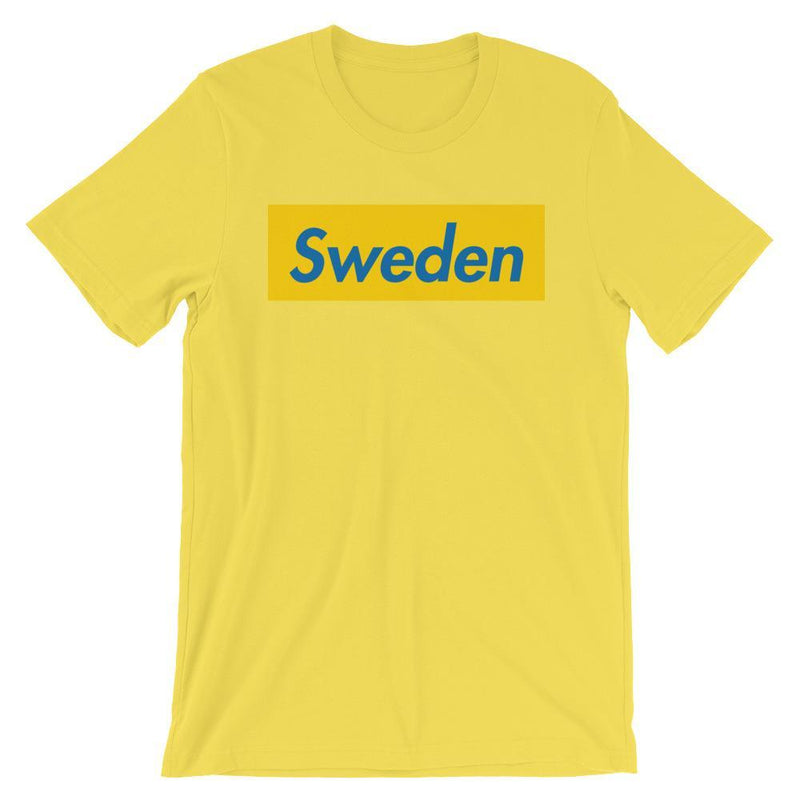 Repparel Sweden Yellow / S Hypebeast Streetwear Eco-Friendly Full Cotton T-Shirt