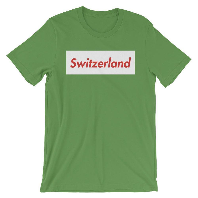 Repparel Switzerland Leaf / S Hypebeast Streetwear Eco-Friendly Full Cotton T-Shirt