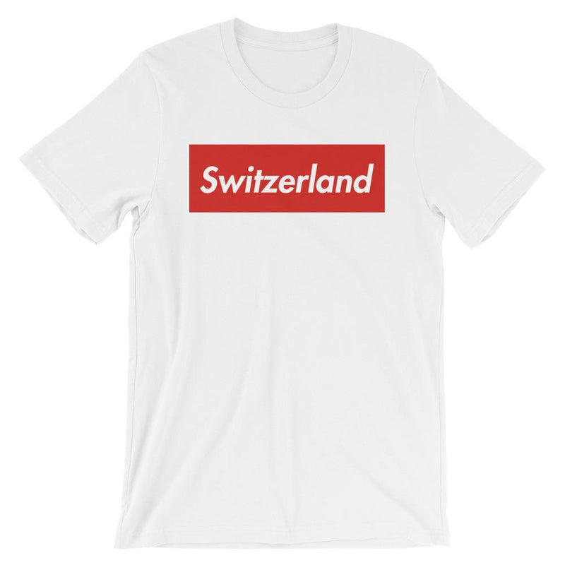 Repparel Switzerland White / XS Hypebeast Streetwear Eco-Friendly Full Cotton T-Shirt