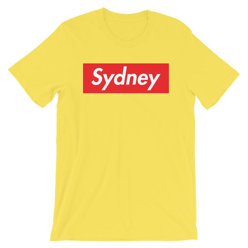 Repparel Sydney Yellow / S Hypebeast Streetwear Eco-Friendly Full Cotton T-Shirt