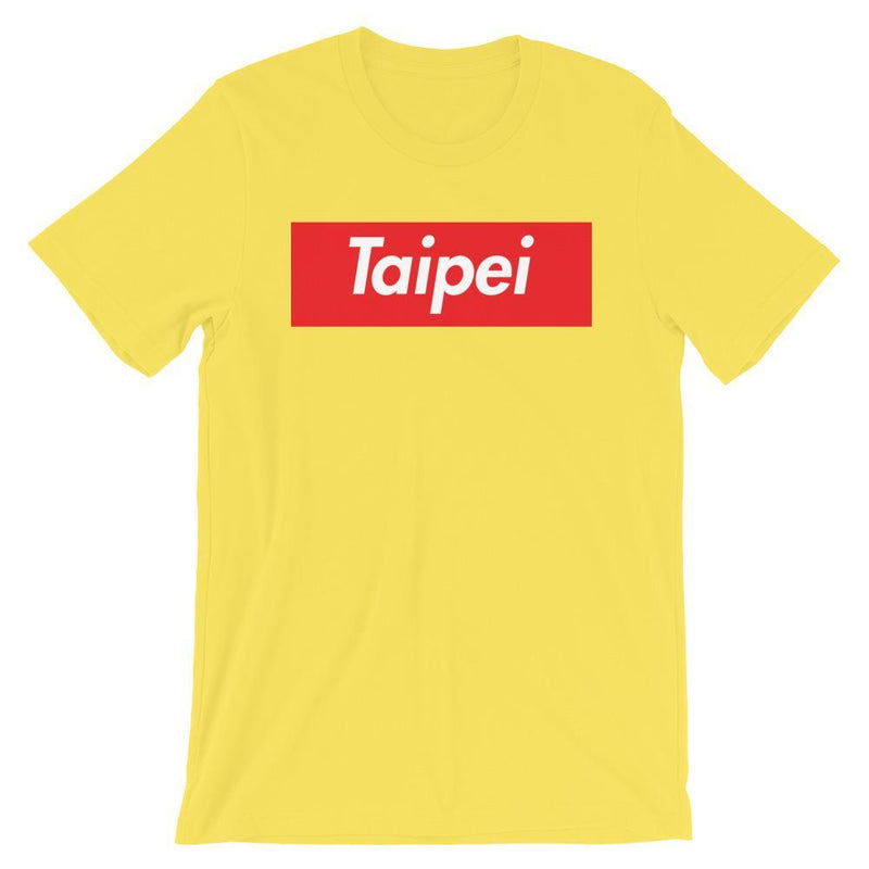 Repparel Taipei Yellow / S Hypebeast Streetwear Eco-Friendly Full Cotton T-Shirt