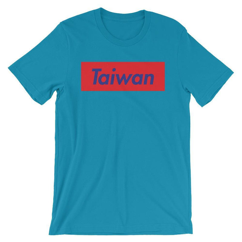 Repparel Taiwan Aqua / S Hypebeast Streetwear Eco-Friendly Full Cotton T-Shirt