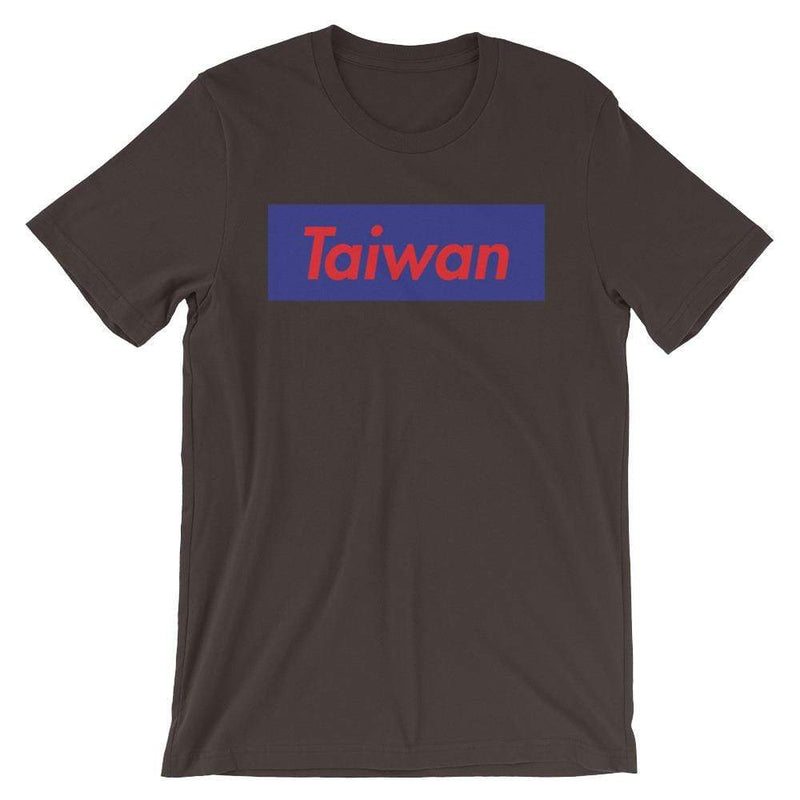 Repparel Taiwan Brown / S Hypebeast Streetwear Eco-Friendly Full Cotton T-Shirt