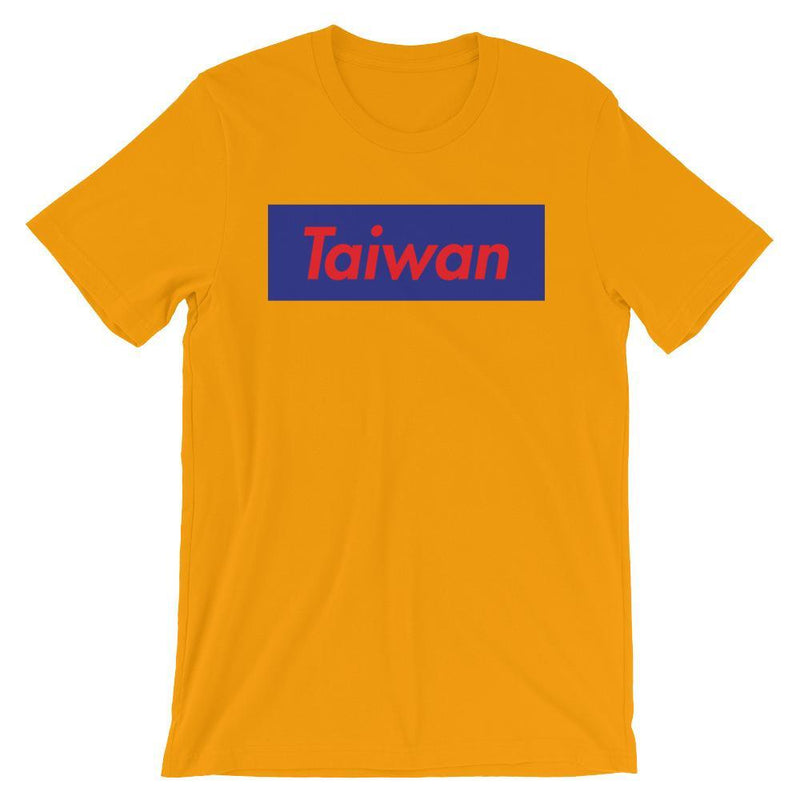 Repparel Taiwan Gold / S Hypebeast Streetwear Eco-Friendly Full Cotton T-Shirt