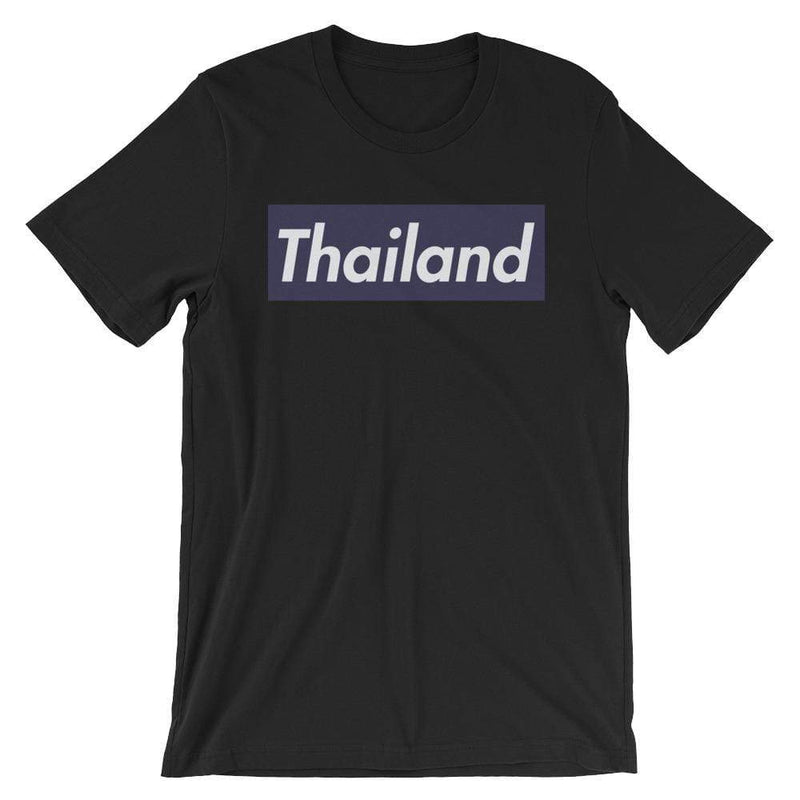 Repparel Thailand Black / XS Hypebeast Streetwear Eco-Friendly Full Cotton T-Shirt