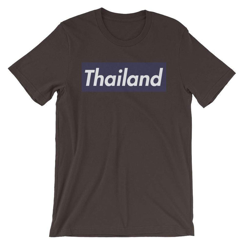 Repparel Thailand Brown / S Hypebeast Streetwear Eco-Friendly Full Cotton T-Shirt