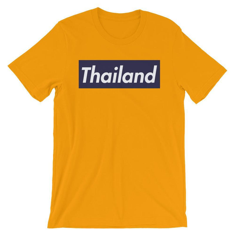 Repparel Thailand Gold / S Hypebeast Streetwear Eco-Friendly Full Cotton T-Shirt