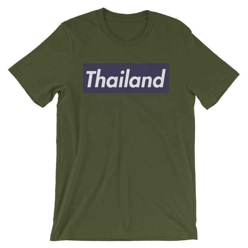 Repparel Thailand Olive / S Hypebeast Streetwear Eco-Friendly Full Cotton T-Shirt