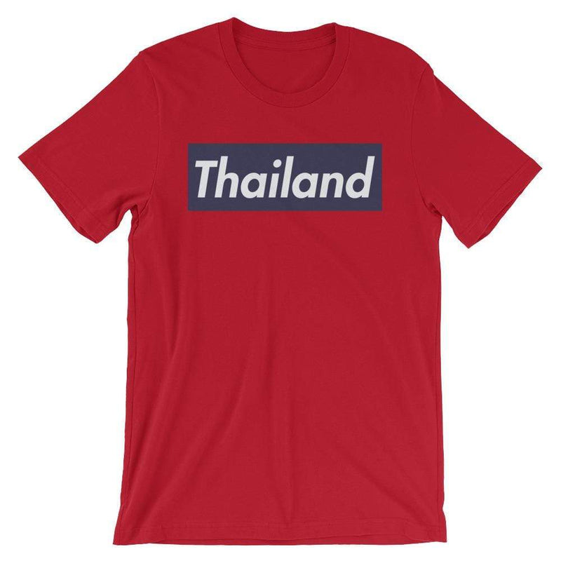 Repparel Thailand Red / S Hypebeast Streetwear Eco-Friendly Full Cotton T-Shirt