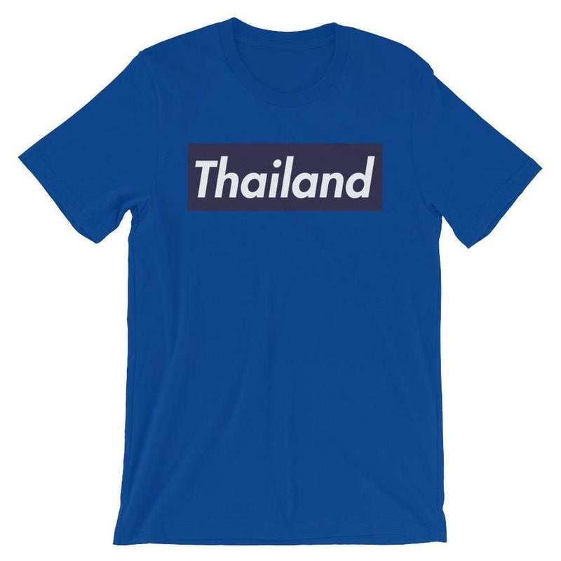 Repparel Thailand True Royal / S Hypebeast Streetwear Eco-Friendly Full Cotton T-Shirt
