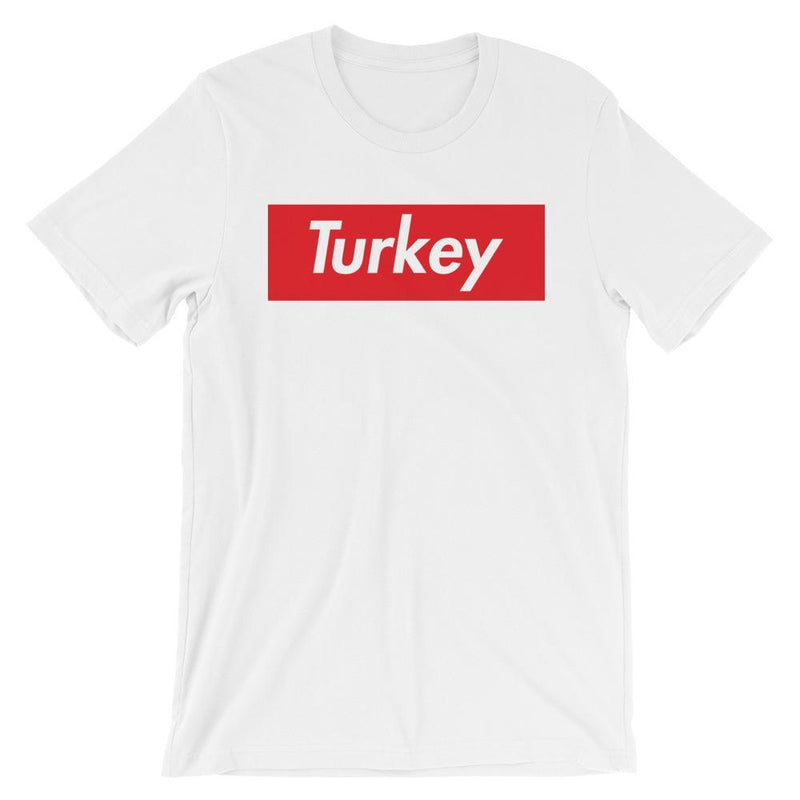 Repparel Turkey White / XS Hypebeast Streetwear Eco-Friendly Full Cotton T-Shirt