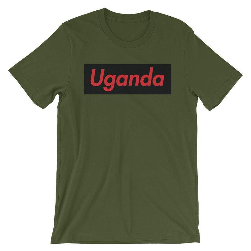 Repparel Uganda Olive / S Hypebeast Streetwear Eco-Friendly Full Cotton T-Shirt