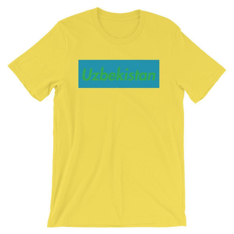 Repparel Uzbekistan Yellow / S Hypebeast Streetwear Eco-Friendly Full Cotton T-Shirt