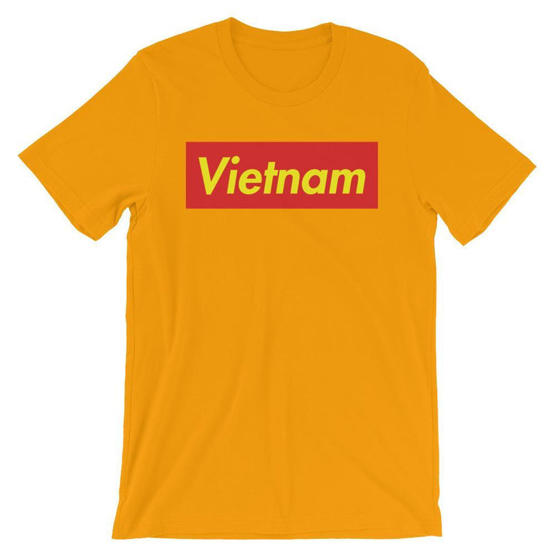 Repparel Vietnam Gold / S Hypebeast Streetwear Eco-Friendly Full Cotton T-Shirt
