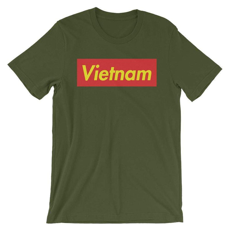 Repparel Vietnam Olive / S Hypebeast Streetwear Eco-Friendly Full Cotton T-Shirt