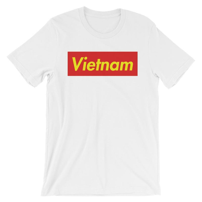 Repparel Vietnam White / XS Hypebeast Streetwear Eco-Friendly Full Cotton T-Shirt