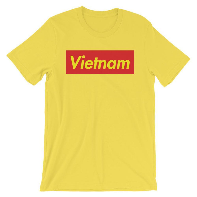 Repparel Vietnam Yellow / S Hypebeast Streetwear Eco-Friendly Full Cotton T-Shirt
