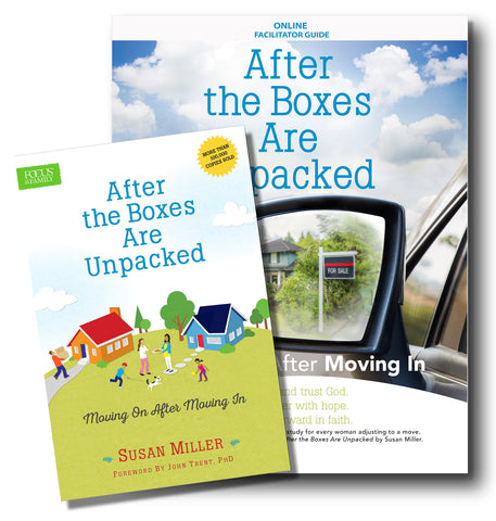 After the Boxes Are Unpacked book and Online Study Facilitator Guide