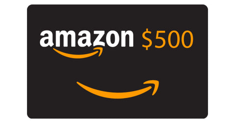 $500 Amazon Gift Card Raffle