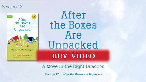 Session 12 - A Move in the Right Direction: Reach out - video buy