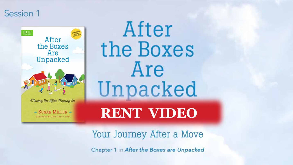 Session 1 - Your Journey After a Move: 3 essential steps - video rent
