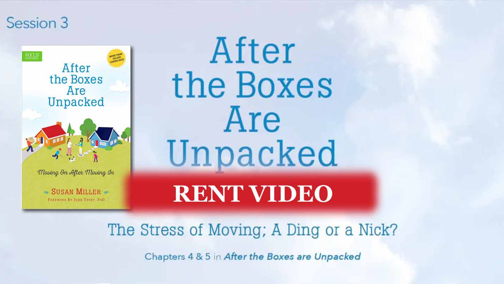 Session 3 - The Stress of Moving. A Ding or a Nick? - video rent