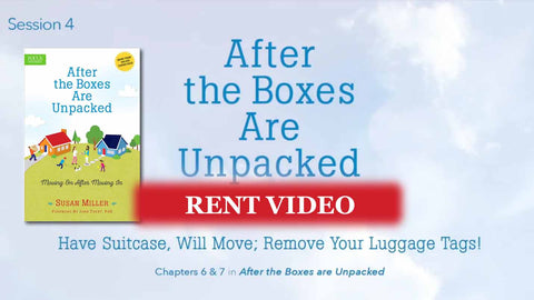 Session 4 - Have Suitcase, Will Move. Remove Your Luggage Tags: Emotions - video rent