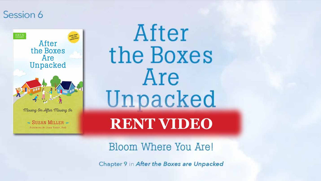 Session 6 - Bloom Where You Are: putting down roots - video rent