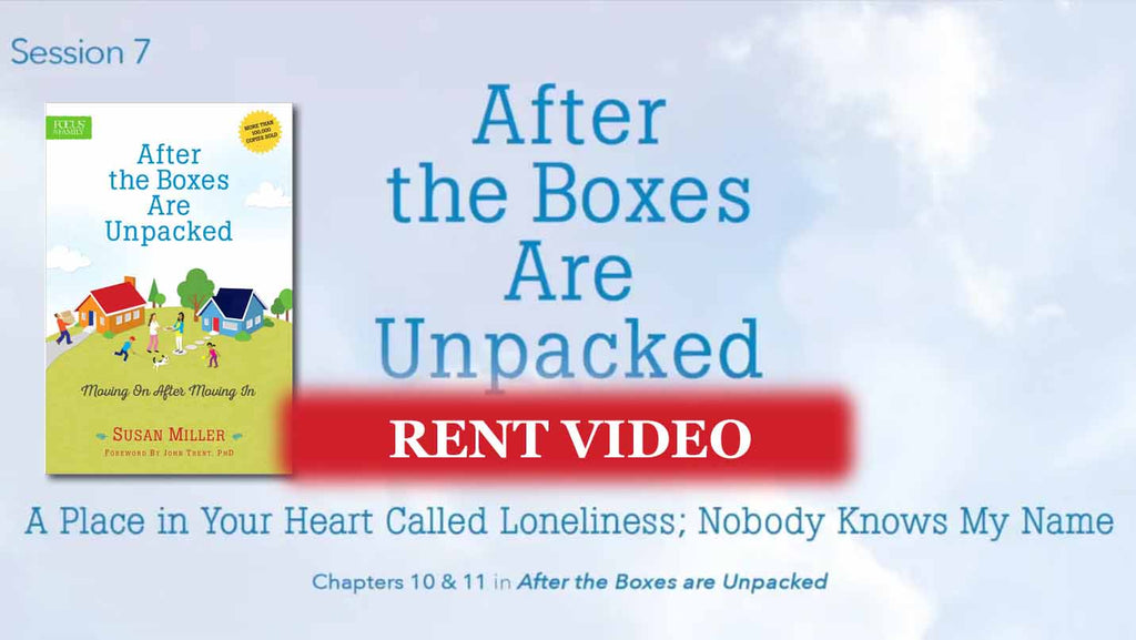 Session 7 - A Place in Your Heart Called Loneliness. Nobody Knows My Name - video rent